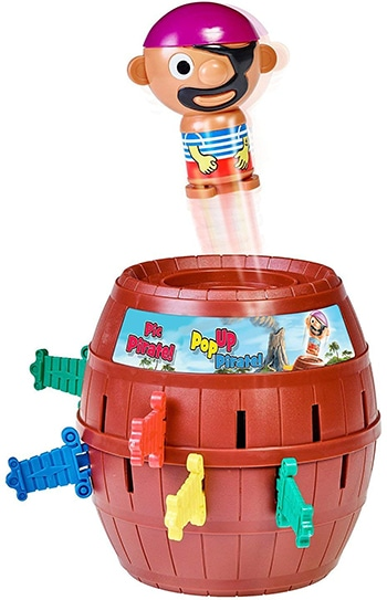 "Kinderspiel ""Pop Up Pirate"" von Tomy"