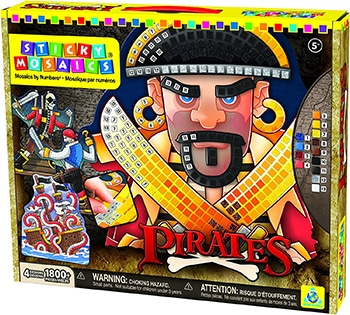 Sticky Mosaics Pirates von Orb Factory