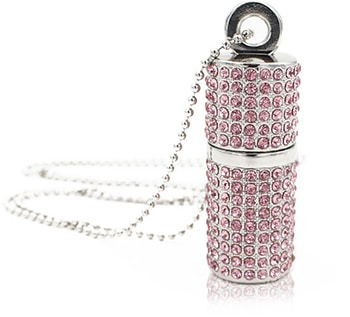 Diamond Crystal Lippenstift Case mit USB-Stick von Shooo