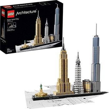 New York City Skyline-Kollektion von LEGO Architecture - ASIN B012NOGGHQ