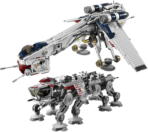 LEGO Star Wars 10195 - AT-OT Walker mit Luftschiff