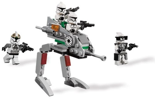 LEGO Star Wars 8014 - Klonkrieger Walker Set