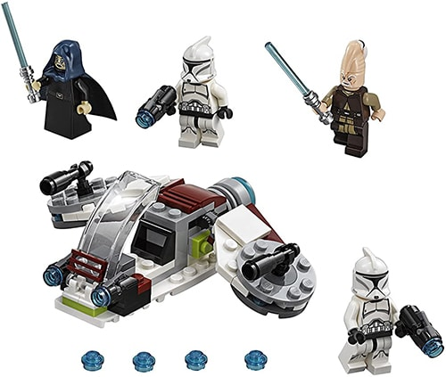 LEGO Star Wars 75206 - Jedi und Klonkrieger Battle Pack