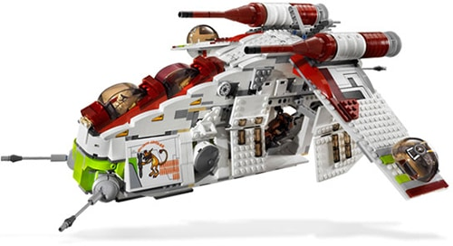 LEGO Star Wars 7676 - Republic Gunship
