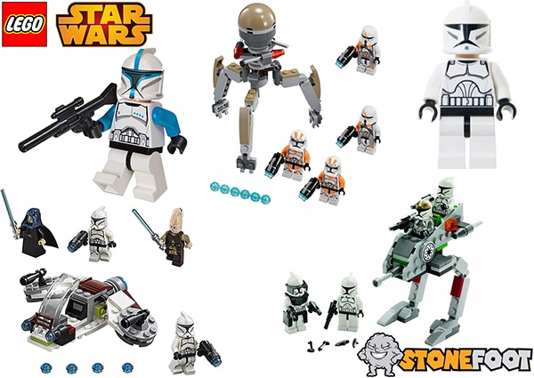 LEGO Star Wars Clone Troopers