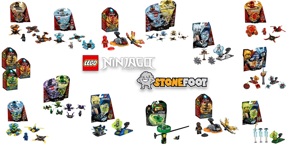 LEGO Ninjago Spinjitzu Sets