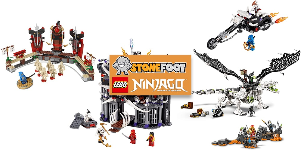 LEGO Ninjago Skelett Sets