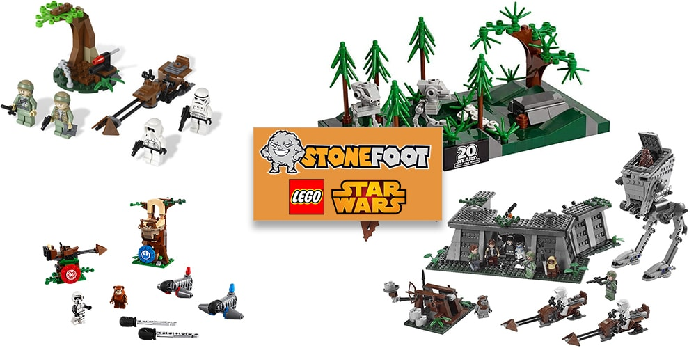 LEGO Star Wars Endor Sets