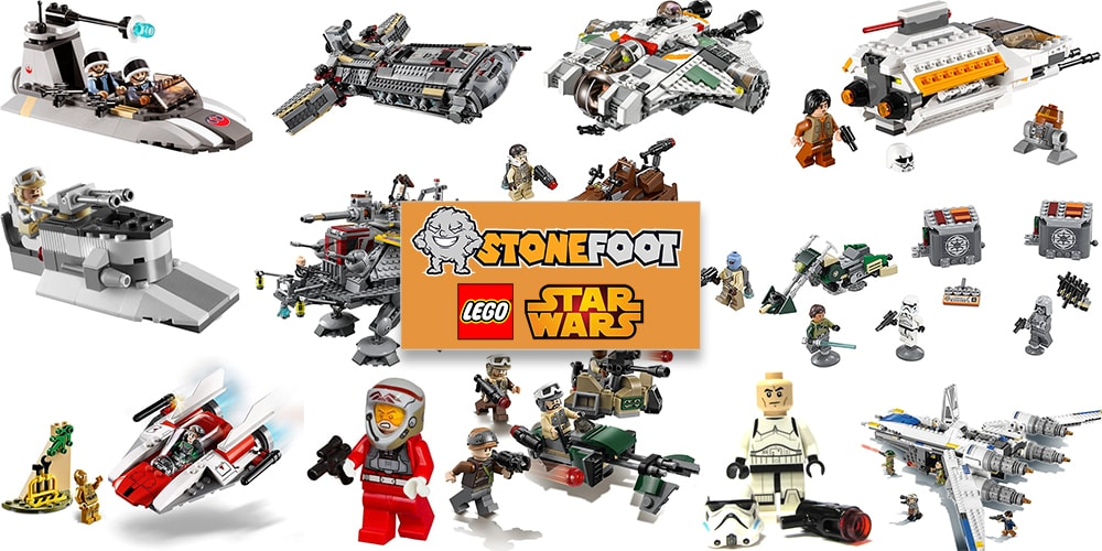 LEGO Star Wars Rebel Sets