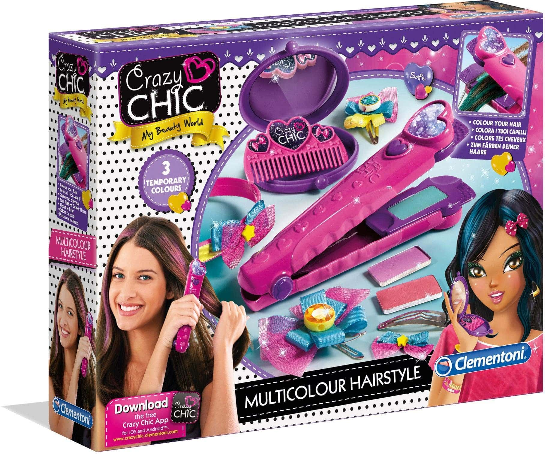 Clementoni Crazy Chic Farb-Hairstyler