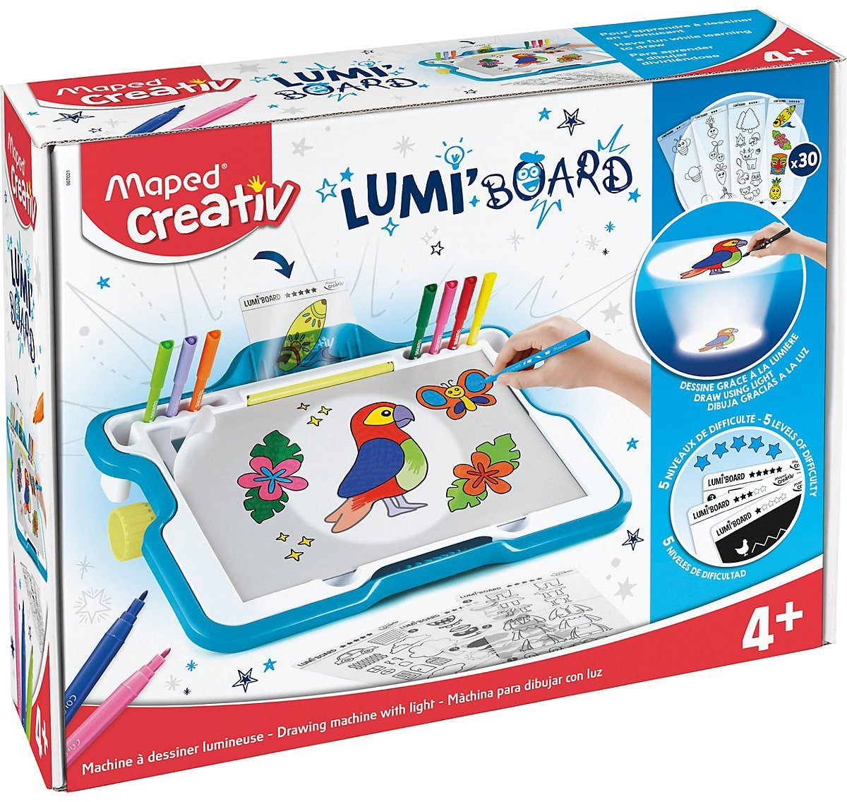 Maped Lumi Board Malvorlage