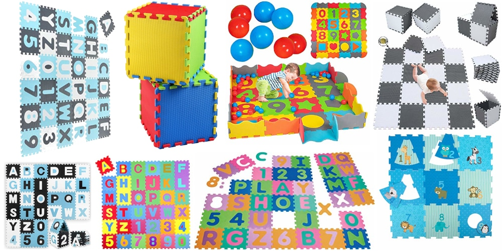 Puzzlematte Baby