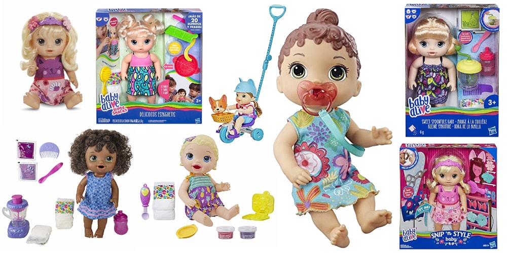 Baby Alive Puppe